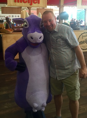 Purple Cow and Scott