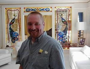 Scott at Graceland