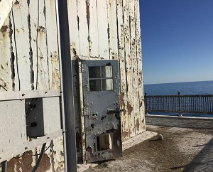 North Manitou Shoal Lighthouse Door
