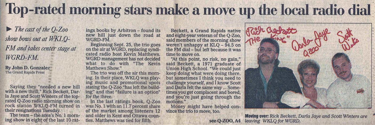 Grand Rapids Press 9-13-95 - 01