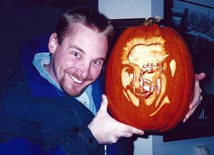 Scott and Pumpkin