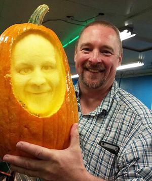 Scott & Pumpkin
