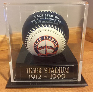 Tiger Stadium Souvenir Baseball