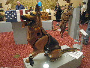 """Wounded Warrior Dogs"" by James Mellick"