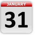 January 31