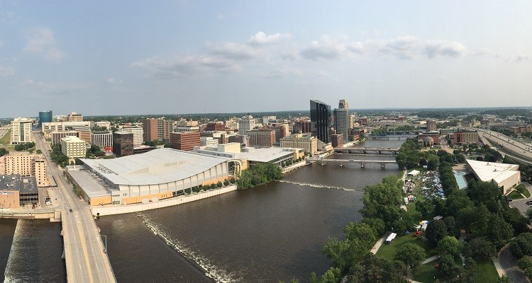Downtown Grand Rapids Skyline