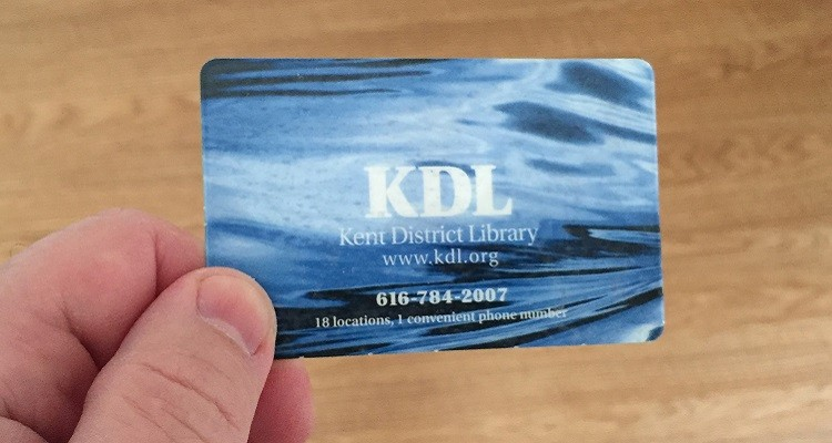 Michigan Library Card