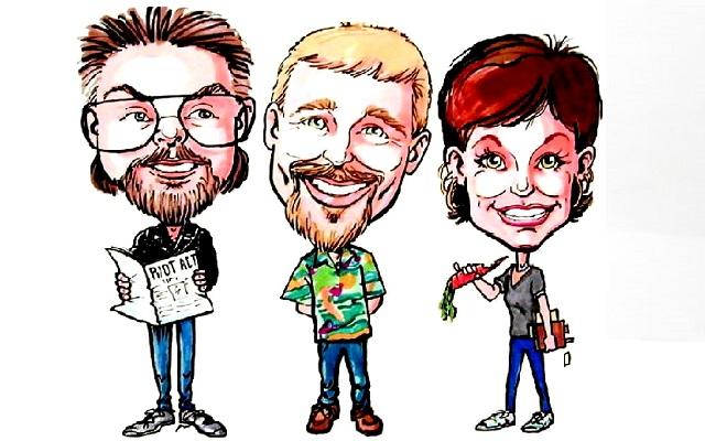 Rick, Scott, and Lesleigh