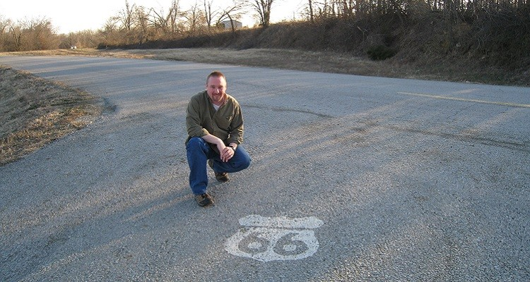 Scott on Route 66