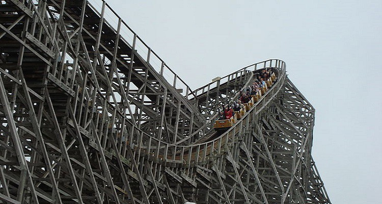 Mean Streak Roller Coaster
