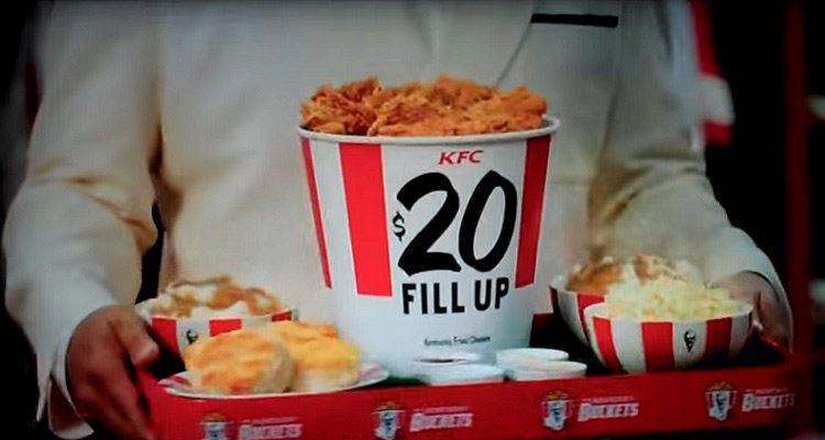 KFC $20 Fill Up