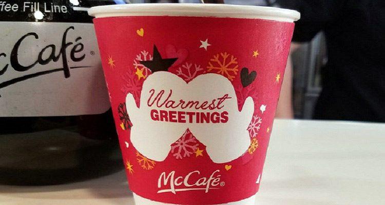 McCafe McDonald's Cup