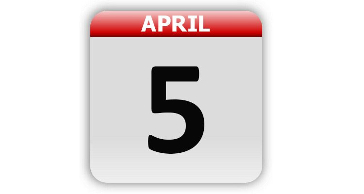 April 5