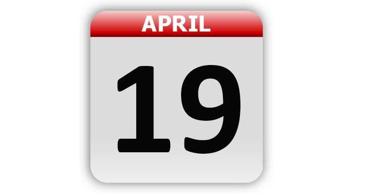 April 19