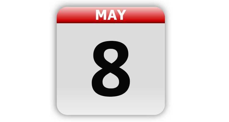 May 8