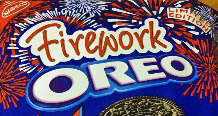 Firework Oreos