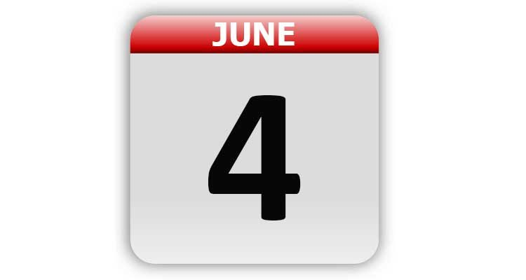 June 4