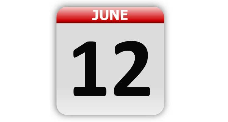 June 12