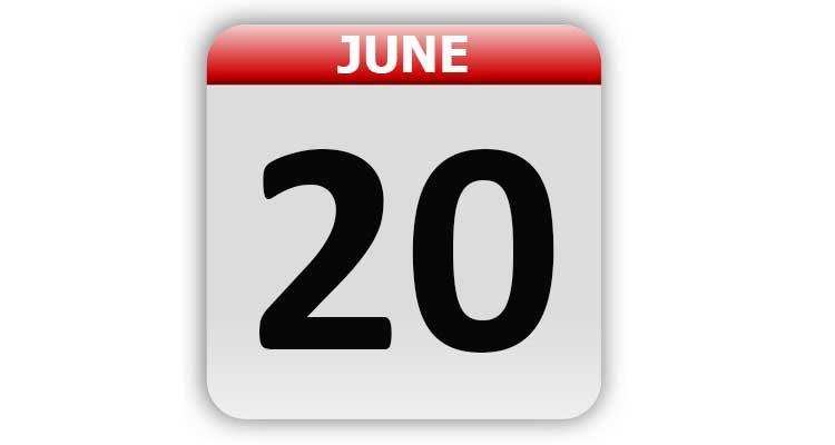 June 20