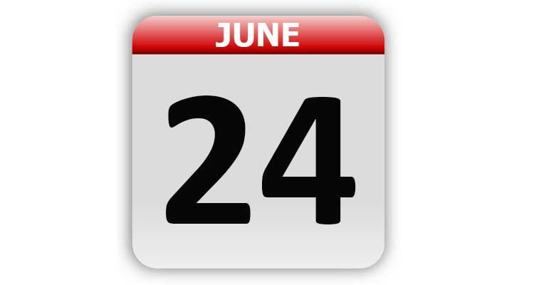 June 24