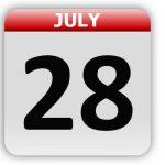 July 28