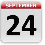 September 24