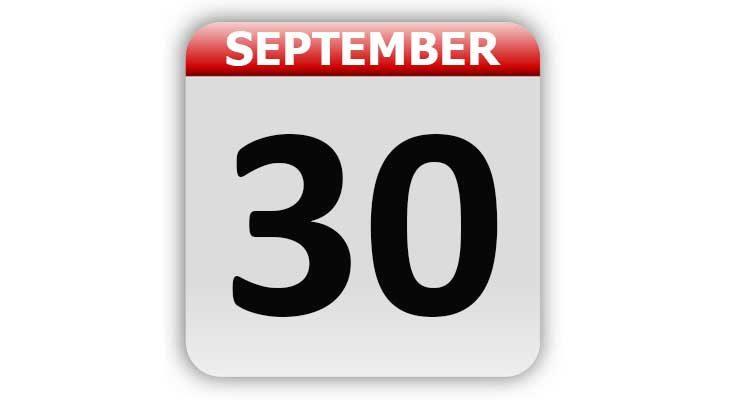 September 30