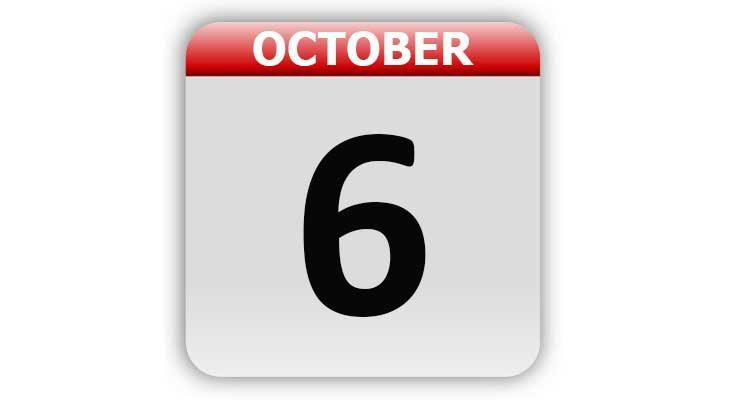 October 6
