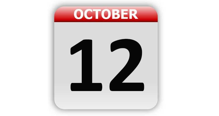 October 12