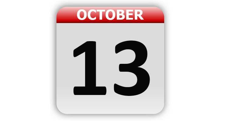October 13