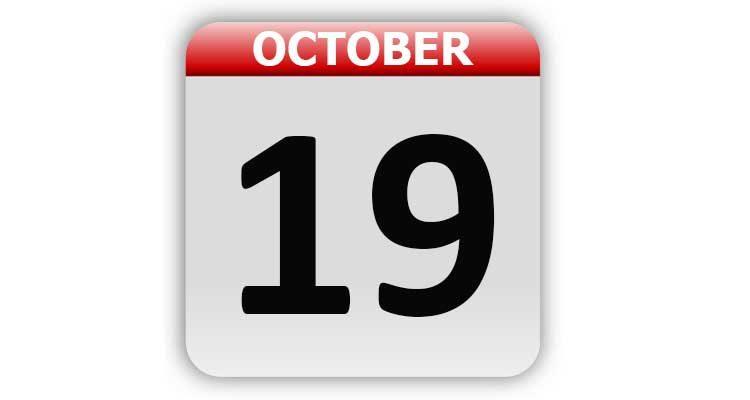 October 19