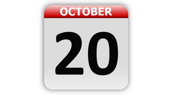 October 20