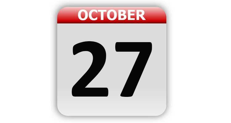 October 27