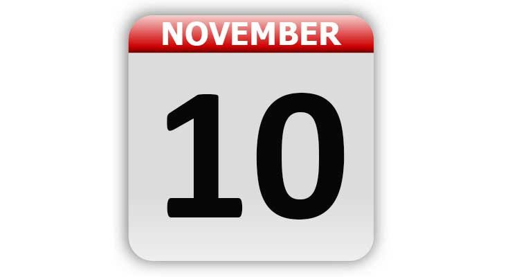 November 10