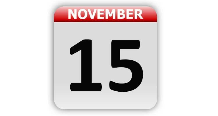 November 15
