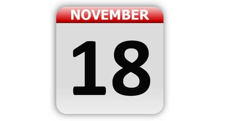 November 18