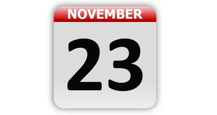 November 23
