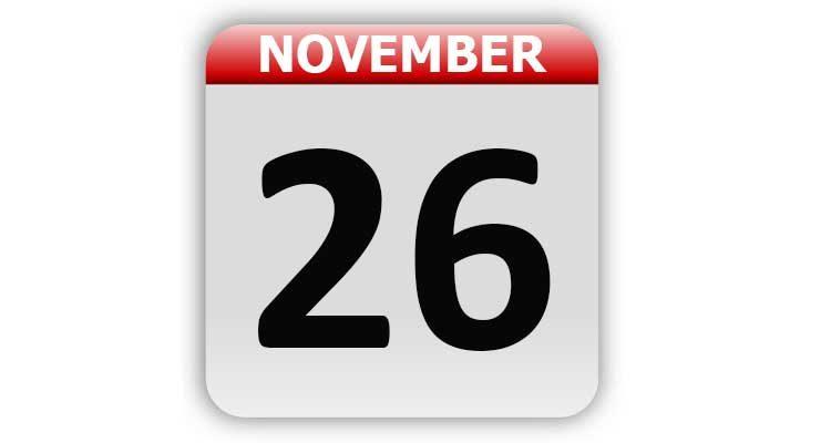 November 26