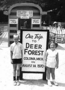 Scott & Debbie at Deer Forest 1970