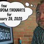 Random Thoughts January 26, 2020