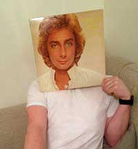 Sleeveface Barry Manilow
