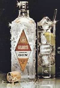 Gilbey's Gin Ad