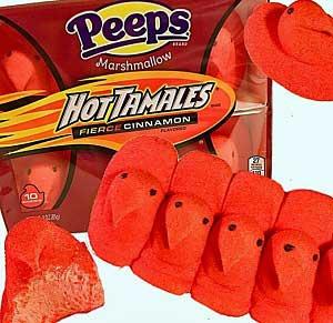 Hot Tamales Peeps