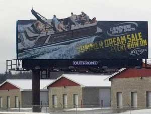 Pontoon Billboard