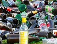 Empty Bottles and Cans