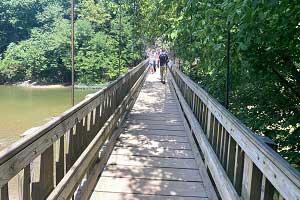 Turkey Run State Park Suspension Bridge