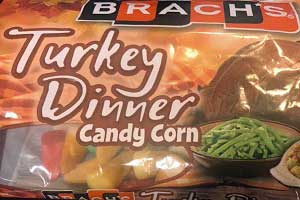 Turkey Dinner Candy Corn